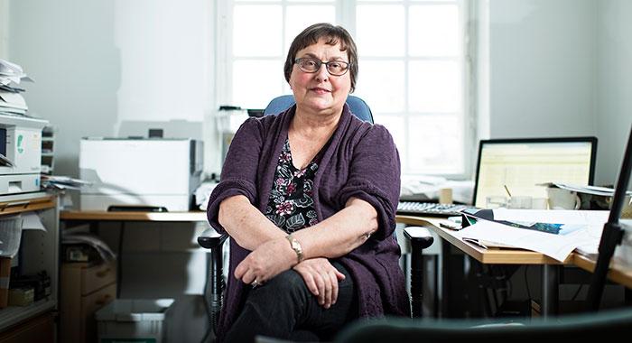 """""""Sosiaalityöntekijöistä  tulee hyviä Kela-asiantuntijoita"""", kertoo Eila Sundman."""