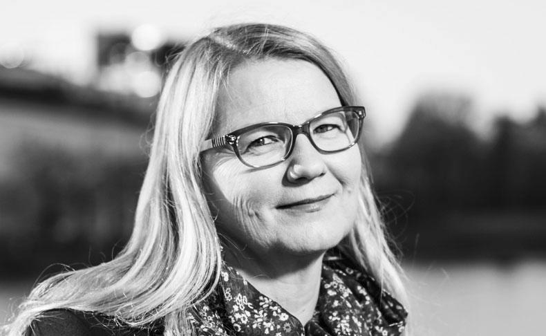 Sinikka Näätsaari, socialpolitisk chef vid FFC, tror att marginaliseringen skulle öka om människor blev tvungna att klara sig enbart på en basinkomst.