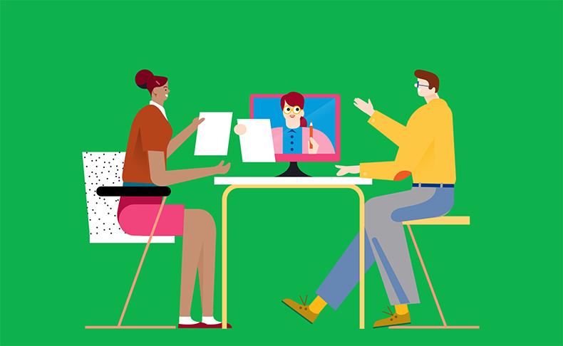 Erinomaisen asiakaskokemuksen tuottaminen onnistuu vain organisaatiolta, jonka koko toimintakulttuuri on asiakaskeskeinen ja läpinäkyvä. Siksi Kela osallistaa myös työntekijät strategian luomiseen ja uusien toimintatapojen kehittämiseen.