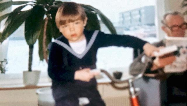 Peter Vesterbacka oppi 5-vuotiaana ajamaan ilman apupyöriä, ja maailma laajeni.