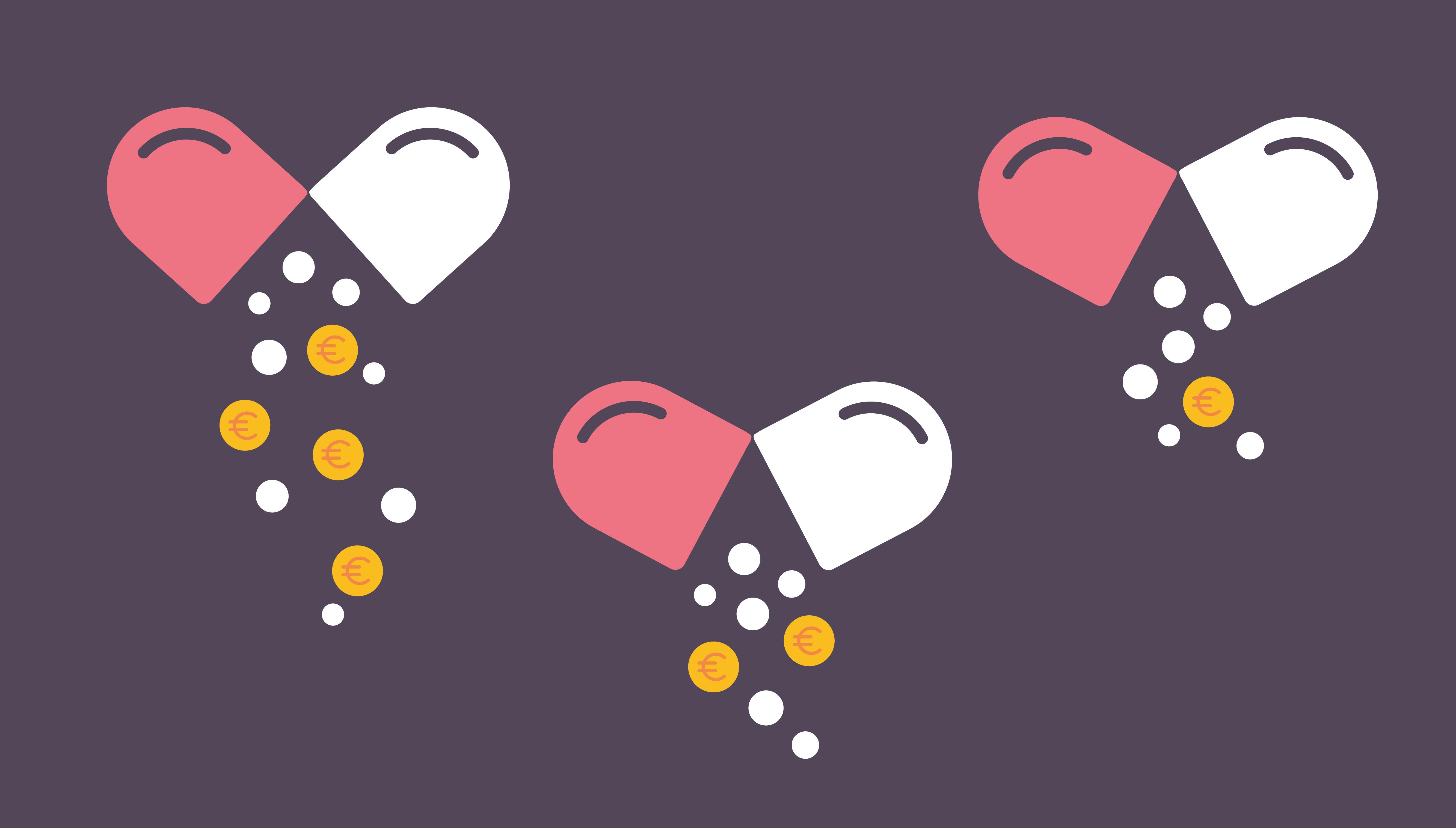 Kela maksoi lääkekorvauksia vuonna 2018 yhteensä lähes 1,5 mrd. euroa.