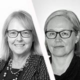 Tua Kyrklund ja  Leila Koskela