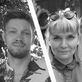Otso-Olavi Mäki  ja Kaaren Erhola